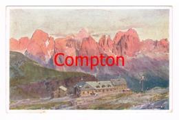 418 E.H.Compton Schlernhäuser Welschnofen Künstlerkarte - Ohne Zuordnung