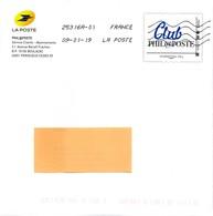 "FRANCE  PAP  Enveloppe  Prêt à Poster  MONTIMBRAMOI   INTERNATIONAL  250 Gr  ""CLUB PHIL@POSTE  2019 - Postal Stamped Stationery"