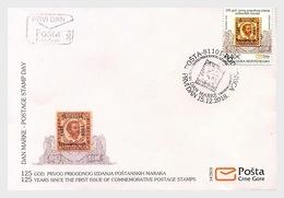 Montenegro - Postfris / MNH - FDC 125 Jaar Postzegels 2018 - Montenegro