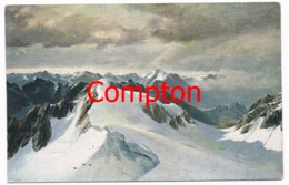425 E.T.Compton Penninische Wallis Alpen Künstlerkarte - Italie