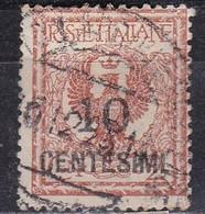Regno D'Italia, 1923/27 - 10c Su 2c  Aquila Sabauda - Nr.138 Usato° - 1900-44 Vittorio Emanuele III