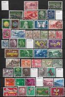 Suisse  Lot De 130 Timbres Oblitérés Entre 1947 Et 1962 Petit Prix - Timbres