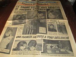 FRANCE DIMANCHE  L ILLUSTRE DE PARIS SEMAINE DU 22 AU 28 SEPTEMBRE 1960 - Newspapers