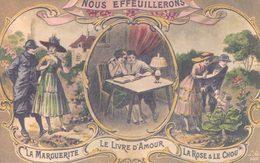 Couple, Nous Effeuillerons La Marguerite, Le Livre D'Amour Et La Rose & Le Chou (3001) - Couples