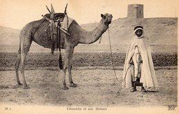 Chambba Et Son Méhari - Cartes Postales