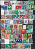 Suisse  Lot De 100 Timbres Oblitérés Entre 1963 Et 1970 Petit Prix - Timbres