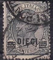 Regno D'Italia, 1924/25 - 10c Su 15c Vittorio Emanuele III - Nr.175 Usato° - Usati