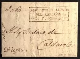 1810 S. GINESIO PER CALDAROLA - Italy