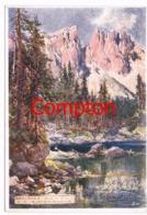 426 E.T.Compton Karersee Welschnofen Künstlerkarte - Ohne Zuordnung