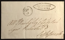 1854 PERGOLA PER SASSOFERRATO - Italy