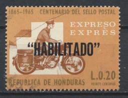 °°° HONDURAS - Y&T N°442 PA - 1970 °°° - Honduras