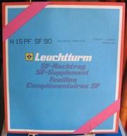 Leuchtturm - JEU POLYNESIE FRANCAISE 1990 SF (Avec Pochettes) - Vordruckblätter