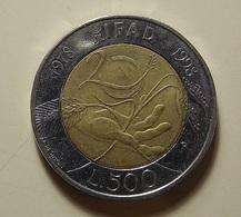 Italy 500 Lire 1998 - 500 Liras