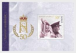 Noorwegen / Norway - Postfris / MNH - Sheet Gouden Huwelijk Koningspaar 2018 - Noorwegen