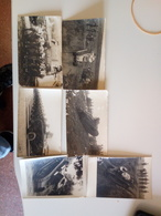 6 Cartoline Militari Carro Armato Rajar Uniformi - Guerra 1914-18