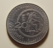 Mexico 20 Pesos 1981 - Mexique