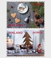 Noorwegen / Norway - Postfris / MNH - Complete Set Kerstmis 2018 - Noorwegen