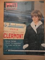 Vie Du Rail 898 1963 Taximine Pont De La Bordigue à Sète Batignolles Sylvie Vartan Colonie Antibes Fournel - Treinen