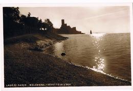 Cartolina - Postcard / Viaggiata - Sent / Lago Di Garda – Malcesine – Effetto Di Luce - Italia