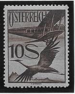 Autriche Poste Aérienne N°31 - Oiseaux - Neuf * Avec Charnière  - TB - Posta Aerea