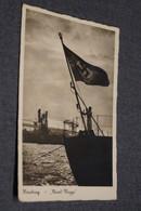 Ancienne Carte Postale Hamburg,bateau Pavillon Allemand ,Allemagne,Historique,collection - Weltkrieg 1939-45