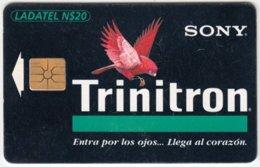 MEXICO A-463 Chip Telmex - Animal, Bird, Parrot, Advertising, Sony - Used - Mexico
