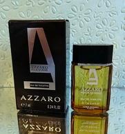 """Miniature """"AZZARO Pour L' HOMME """" D' AZZARO Eau De Toilette 7 Ml Dans Sa Boite - Miniatures Hommes (avec Boite)"""