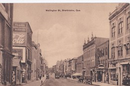 Carte Vers 1920 WELLINGTON ST .  SHERBROOKE / QUE (rue) - Sherbrooke