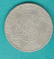 Morocco - Abd Al-Aziz - 2½ Dirham / ¼ Rial - AH1320 (1902) - KMY20.3 - Paris - Maroc