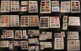 Erinophilie - Lot De Feuillets Et Timbres - Neufs ** - Dentelés Et Non Dentelés - Thèmes Variés - Collections (sans Albums)