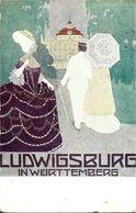 Allemagne  LUDWIGSBURG  IN WURTTEMBERG  , ( Voir Verso ) - Ludwigsburg