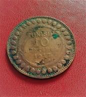 TUNISIE 10 CENTIMES 1917  (B4 - 23) - Tunisia