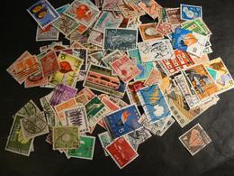 Japon - Lot D'environ 200 Timbres Oblitérés Toutes Périodes - Collections (sans Albums)