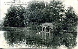 14 - Saint-Germain-Langot - Le Lavoir Et La Pièce D'eau Du Château. - Autres Communes
