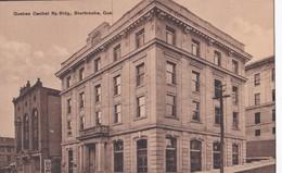 Carte Vers 1920 QUEBEC CENTRAL RY.BIDG . SHERBROOKE / QUE (rue) - Sherbrooke