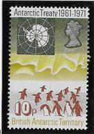 Territoire Antarctique Britannique N°42 - Oiseaux - Neuf ** Sans Charnière - TB - Neufs