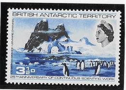 Territoire Antarctique Britannique N°21 - Oiseaux - Neuf ** Sans Charnière - TB - Neufs