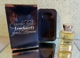 """Miniature """"CACHAREL  POUR HOMME  """" De CACHAREL Eau De Toilette 7,5 Ml Dans Sa Boite - Miniatures Hommes (avec Boite)"""