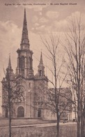 Carte Vers 1920 EGLISE ST JEAN BAPTISTE SHERBROOKE / QUE - Sherbrooke