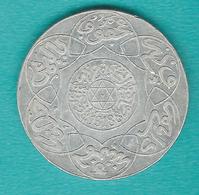 Morocco - Abd Al-Aziz - 5 Dirhams / ½ Rial - AH1318 (1901) - Berlin - KMY12.1 - Marokko