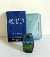 """Miniature """" HORIZON  """"de GUY LAROCHE  Eau De Toilette  5 Ml Dans Sa Boîte (M76-3) - Miniatures Hommes (avec Boite)"""