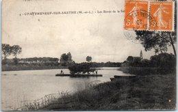49 - CHATEAUNEUF Sur SARTHE -- Les Bords De La Sarthe - Chateauneuf Sur Sarthe
