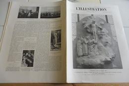 L'ILLUSTRATION 25 Mars 1922-SAINT GERVAIS-PACIFICATION MAROC-VILLA MARYLAND- CENTRALE GENNEVILLIERS-L'ECOLE D'AVON - Journaux - Quotidiens