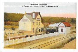 RANDAN  (cpa 63)  La Gare Et La Forêt   -  L 1 - Autres Communes