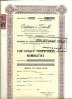 Italia - Centenari & Zinelli - A - C