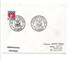 OBLITERATION 11 EME CONGRES PHILA. BRETAGNE à REDON ILLE ET VILAINE - Postmark Collection (Covers)