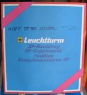 Leuchtturm - JEU ANDORRE FRANCAIS 1990 SF (Avec Pochettes) - Albums & Reliures