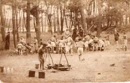 Camp De Scouts Probablement A Noirmoutier - Scoutisme