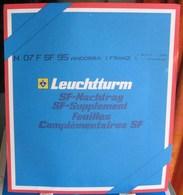 Leuchtturm - JEU ANDORRE FRANCAIS 1995 SF (Avec Pochettes) - Albums & Reliures