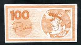 """Billet De Banque Fantaisie (de Jeu ?) """"100 / Richie"""" Banknote - Fictifs & Spécimens"""